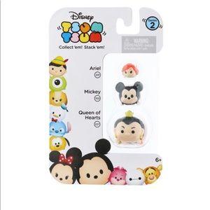 Tsum Tsum Queen of Hearts, Mickey Mouse, Ariel